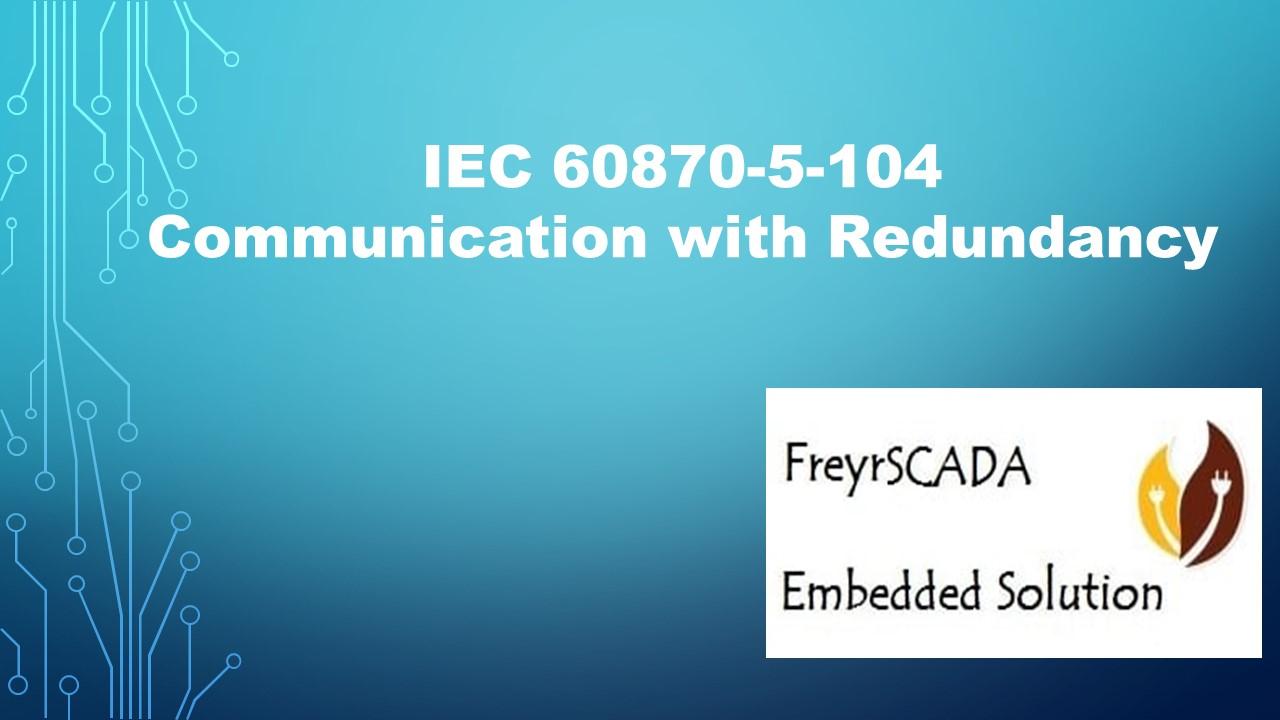 IEC 104 Server Redundancy