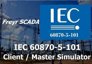 IEC 60870-5-101 Client Simulator
