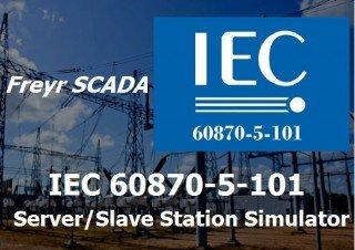 IEC 60870-5-101 Server Simulator