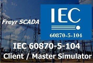 IEC 60870-5-104 Client Simulator