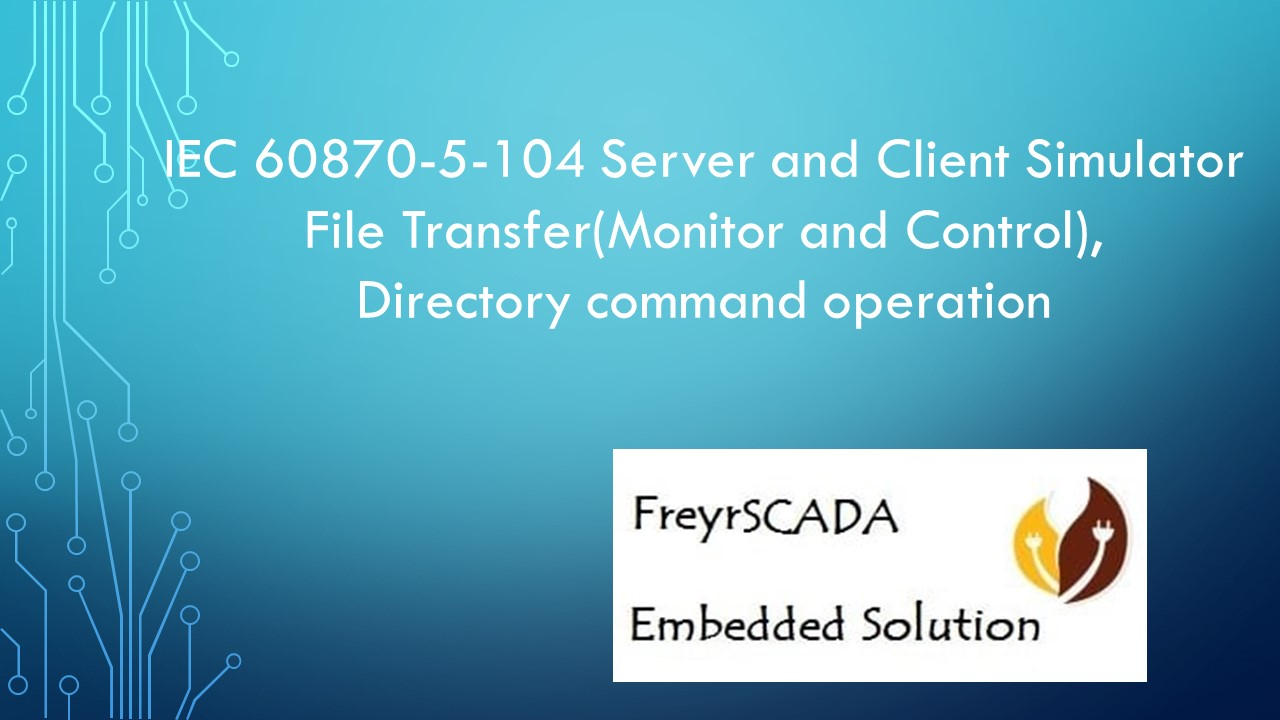 IEC 104 File transfer